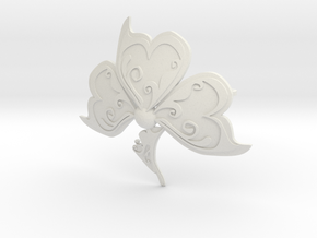 shamrock 1 in White Natural Versatile Plastic