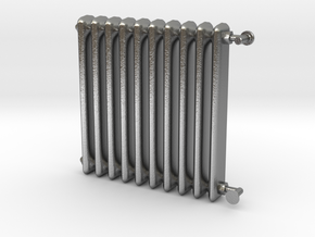 1:24 Scale- Radiator in Natural Silver