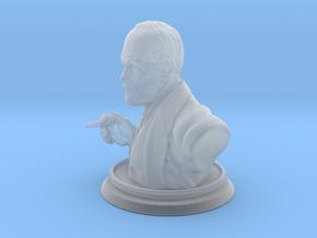 Sigmund Freud Bust 50mm in Smooth Fine Detail Plastic