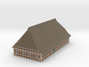 Z Scale North German Farm House in Full Color Sandstone