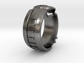 Visor Ring 10 in Polished Nickel Steel