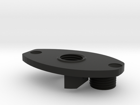 FE sef A3 grip motor plate with screw in Black Natural Versatile Plastic