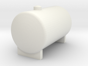 Water Tank 1/32 Model in White Natural Versatile Plastic