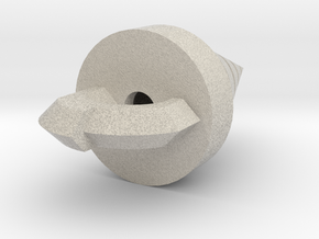 Hollow version of the Core Drill in Natural Sandstone