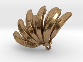 Bananas pendant in Natural Brass