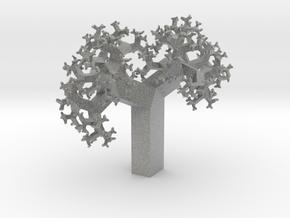 Skew Fractal Tree (Wild) in Metallic Plastic