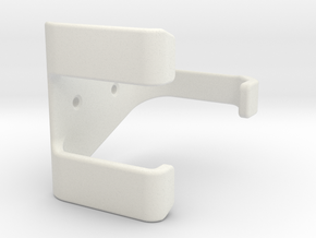 PS3-controller wall mount Hook in White Natural Versatile Plastic