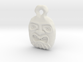 Tiki Pendant 1 in White Strong & Flexible