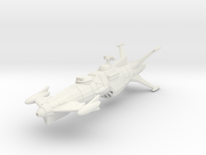 EDSF Dresden Class Light Cruiser in White Strong & Flexible