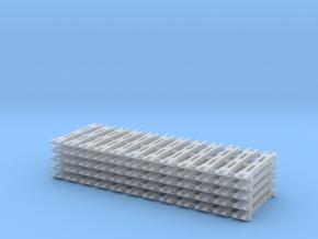 Spur N Steifkupplung x60 wie Tillig 8827 NEM 1:160 in Smooth Fine Detail Plastic