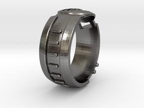 Visor Ring 7 in Polished Nickel Steel