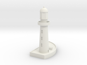 1/700 Lighthouse in White Natural Versatile Plastic