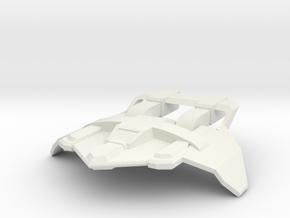tatical figher attack in White Natural Versatile Plastic