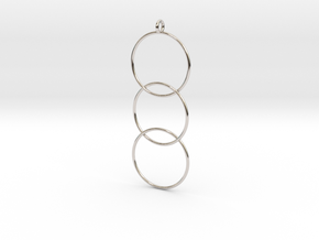 Interlaced Circles v2 in Platinum