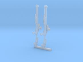 2xShotgun in Smooth Fine Detail Plastic