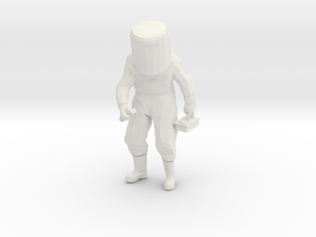 HAZMAT All Hazards-Guy in White Natural Versatile Plastic