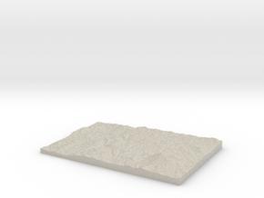 Model of Marlborough in Natural Sandstone
