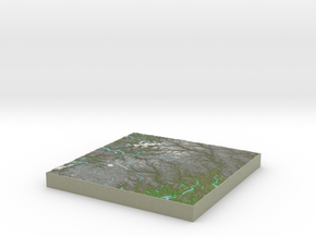 Terrafab generated model Sat Apr 26 2014 21:34:53  in Full Color Sandstone