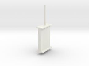 schilling rudder springer v7 in White Natural Versatile Plastic