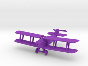 1/72 Sopwith Dolphin in Purple Strong & Flexible Polished