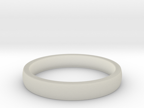 ID Ring in Transparent Acrylic