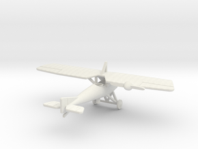 1/144th Morane Saulnier P in White Strong & Flexible