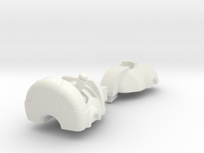 animated erector head kit mk01 in White Strong & Flexible