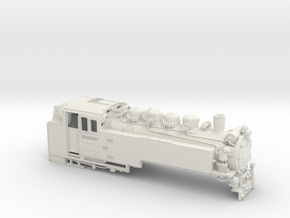 Schmalspurlok BR 99.73-76 Spur 0e (1:45) in White Strong & Flexible