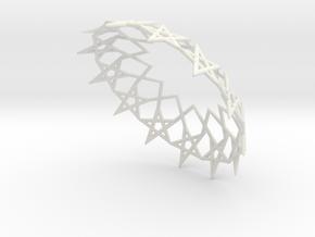 fivestars in White Natural Versatile Plastic