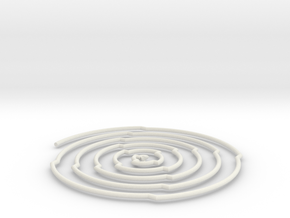 spir1 in White Natural Versatile Plastic