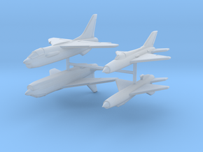 1/350 F-8 Crusader & MiG-21PF in Smooth Fine Detail Plastic