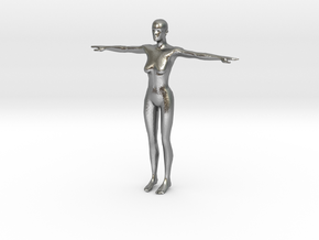 Makehuman Opensource Female in Natural Silver