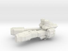 Baxman in White Natural Versatile Plastic