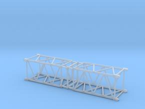 HO/1:87 Crane boom segment short 17x17 x2 in Smooth Fine Detail Plastic