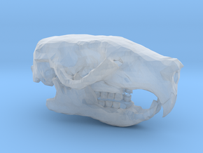 Mini Rat Skull in Smooth Fine Detail Plastic