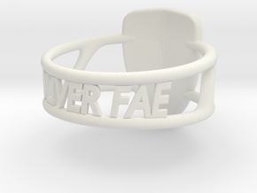 Oliver Fae's shield made into a ring! in White Strong & Flexible