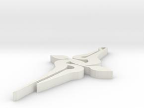 SWIRL in White Natural Versatile Plastic