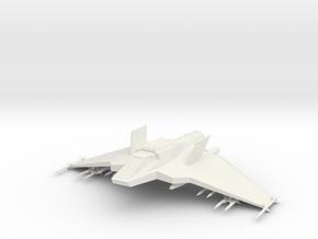 322C+80mm+hollow in White Natural Versatile Plastic