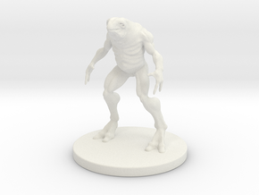 1 Inch Frog-like Man in White Strong & Flexible