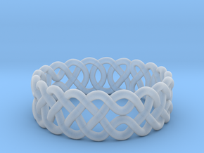 Celtic Ring - 16mm ⌀ in Smooth Fine Detail Plastic
