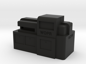 WOPR Computer, Large in Black Strong & Flexible