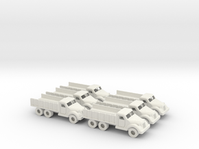 15mm Anglian 4x6 Hauler (x6) in White Strong & Flexible