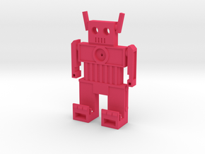 BitBot - Classic Game Cartridge Wall Mount in Pink Processed Versatile Plastic