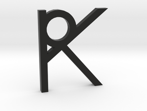 RK Logo in Black Strong & Flexible