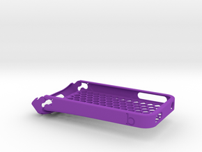 biikparts iPhone 4 Case in Purple Strong & Flexible Polished