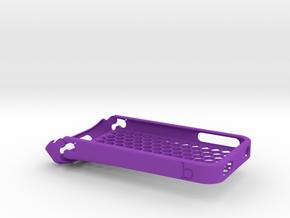 biikparts iPhone 4 Case in Purple Processed Versatile Plastic