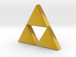 Triforce in Full Color Sandstone