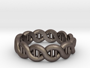 DNA sz19 in Polished Bronzed Silver Steel