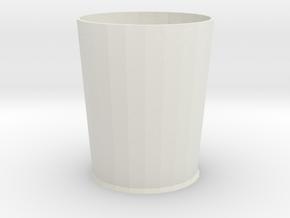 Pythagoras beker 6 cm hoog in White Strong & Flexible
