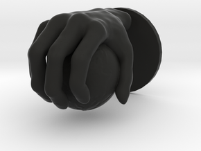 Hand globe Large in Black Strong & Flexible